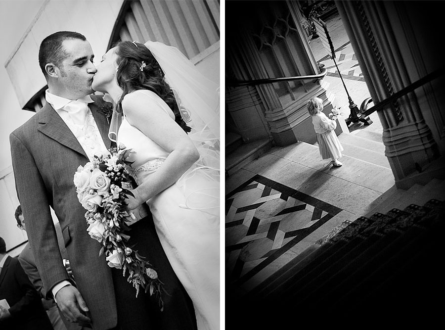Reportage style Wedding photos