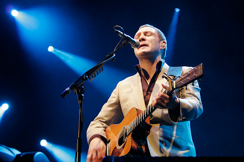 David Gray  at the Nottingham Ice Arena 1